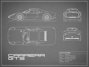 Porsche Carrera GTS-Grey by Mark Rogan