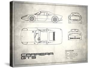 Porsche Carrera GTS White by Mark Rogan
