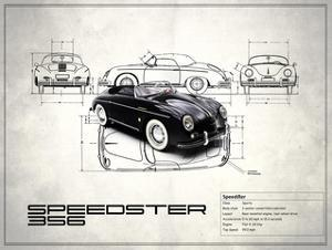 Porsche Speedster 1959 by Mark Rogan