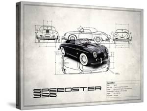 Porsche Speedster 1959 by Mark Rogan