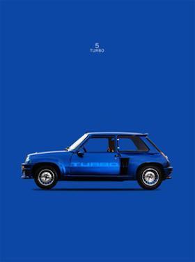 Renault 5 Turbo 1983 by Mark Rogan