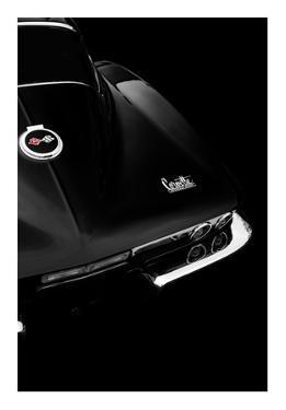 The Corvette Stingray In Black by Mark Rogan