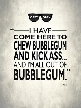 They Live Chew Bubble Gum by Mark Rogan