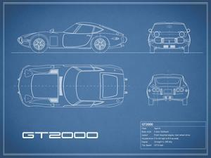 Toyota GT2000-Blue by Mark Rogan