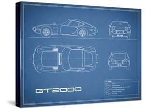Toyota GT2000-Blue by Mark Rogan