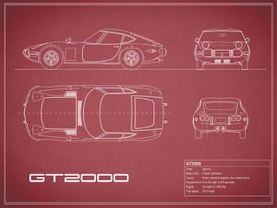 Toyota GT2000-Maroon by Mark Rogan