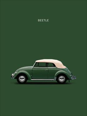 VW Beetle Green 53 by Mark Rogan