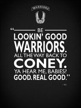 Warriors Lookin Good by Mark Rogan