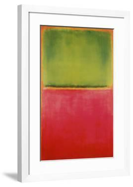 Green, Red, on Orange by Mark Rothko