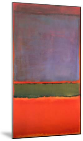 No. 6 (Violet, Green and Red), 1951 by Mark Rothko