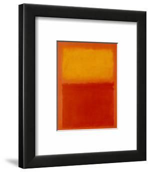 Orange and Yellow by Mark Rothko