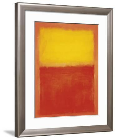 Orange and Yellow by Mark Rothko