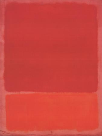 Red (Orange) by Mark Rothko