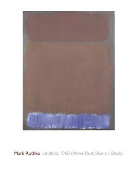 Untitled, 1968 by Mark Rothko