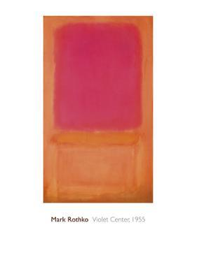 Violet Center, 1955 by Mark Rothko