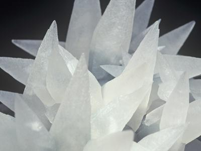 Calcite Photographed under Normal White Light, Brazil, South America