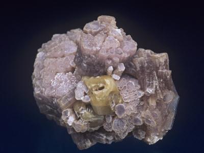 Lepidolite with Herderite, Minas Gerais, Brazil, South America