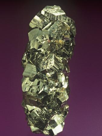Pyrite Crystals, Peru, South America