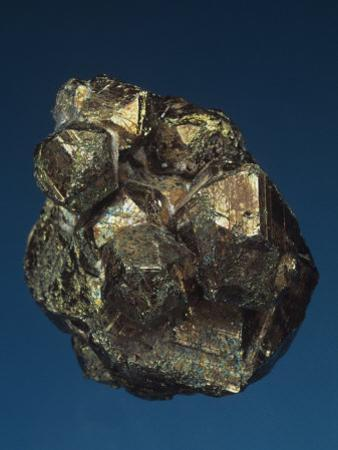 Pyrite Crystals, Tsumeb Mine, Namibia, Africa