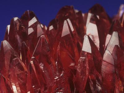 Rhodochrosite Crystals (Mnco3), an Ore of Manganese
