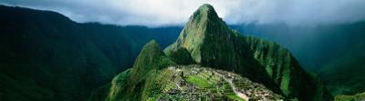 Machu Picchu, Andes, Peru by Mark Segal