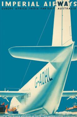 Imperial Airways - Europe - Africa - India - Far East - Australia by Mark Severin