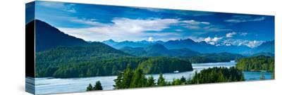 Panoramic View of Tofino, Vancouver Island, Canada by Mark Skalny