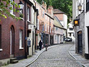 Elm Hill, Norwich, Norfolk, England, United Kingdom, Europe by Mark Sunderland