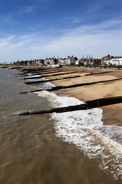 Felixstowe Beach from the Pier, Felixstowe, Suffolk, England, United Kingdom, Europe by Mark Sunderland