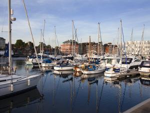 Ipswich Haven Marina, Ipswich, Suffolk, England, United Kingdom, Europe by Mark Sunderland