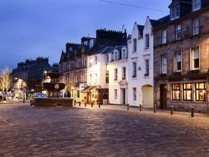 Market Street at Dusk, St Andrews, Fife, Scotland by Mark Sunderland