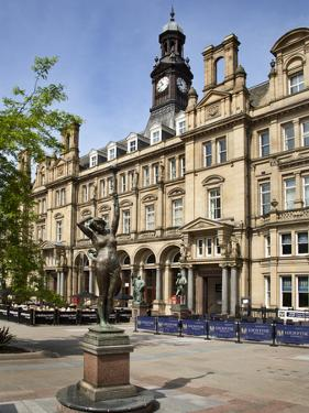 Old Post Office Building in City Square, Leeds, West Yorkshire, Yorkshire, England, UK, Europe by Mark Sunderland