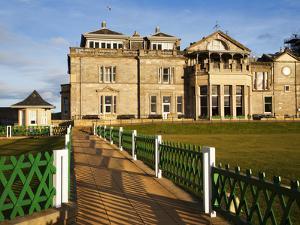Royal and Ancient Golf Club, St. Andrews, Fife, Scotland, United Kingdom, Europe by Mark Sunderland