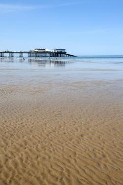 Sand Ripples at Cromer Pier, Cromer, Norfolk, England, United Kingdom, Europe by Mark Sunderland