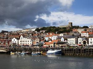 The Harbour at Scarborough, North Yorkshire, Yorkshire, England, United Kingdom, Europe by Mark Sunderland