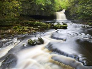 West Burton Waterfall, West Burton, Wensleydale, Yorkshire Dales National Park, Yorkshire, England, by Mark Sunderland