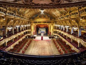 Europe, England, Lancashire, Blackpool, Blackpool Tower Ballroom by Mark Sykes