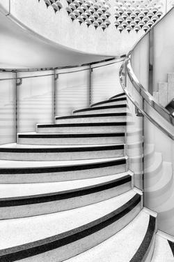 Europe, United Kingdom, England, Middlesex, London, Tate Britain Staircase by Mark Sykes