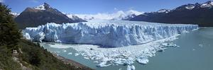 Perito Moreno Glacier, Panoramic View, Argentina, January 2010 by Mark Taylor