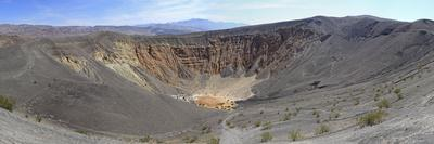 Ubehebe Crater Panorama, Death Valley, California, USA