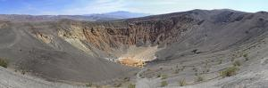 Ubehebe Crater Panorama, Death Valley, California, USA by Mark Taylor