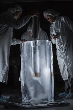 Scientists Inspect a Probe That Might Someday Travel Beneath the Ice of Europa by Mark Thiessen