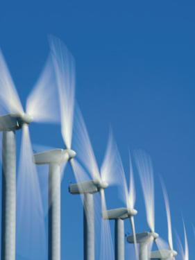 Turbines Funnel Wind from the Columbia River Gorge by Mark Thiessen