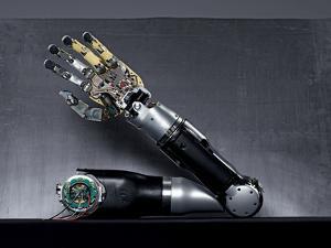 Twenty Motors Animate a Cutting-Edge Bionic Arm by Mark Thiessen