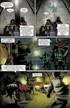 Zombies vs. Robots: Undercity - Comic Page with Panels by Mark Torres