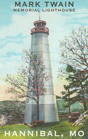 Mark Twain Lighthouse, Hannibal, Missouri