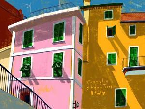 Corniglia Italy by Mark Ulriksen