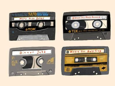 Four Mix Tapes