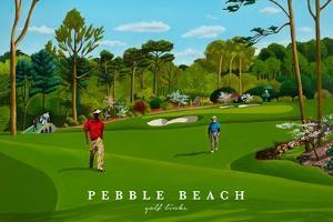 Pebble Beach by Mark Ulriksen