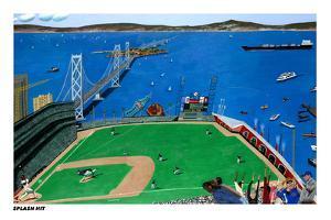 San Francisco - Splash Hit by Mark Ulriksen